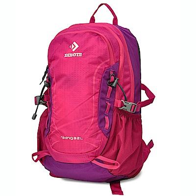 迪伯特DIBOTE 輕便攻頂登山包/短程登山背包/攻頂包-32L(紫)