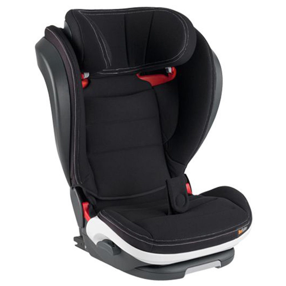 【BeSafe】iZi Flex FIX 成長型兒童汽車安全座椅(銀石黑)