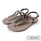 Grendha 華麗喀拉拉邦平底涼鞋-銀灰 product thumbnail 1