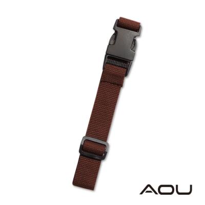 AOU 台灣製造 多用途行李外扣帶旅行省力好幫手 行李掛扣(棕色)66-028D14