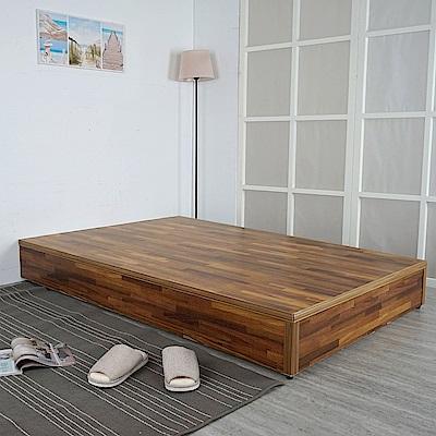Homelike 日式床台-雙人5尺(六色)