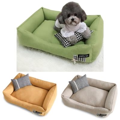 寵愛有家-秋冬保暖素色沙發寵物窩(寵物睡窩)