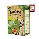 即期良品/ Soopa舒趴-生機狗點心/營養強化佐餐包-菠菜南瓜 320g (80gx4包