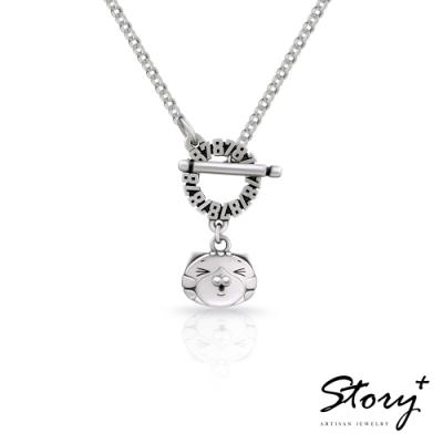 STORY故事銀飾-白爛貓經典系列-高級LanLan 純銀項鍊(女款)