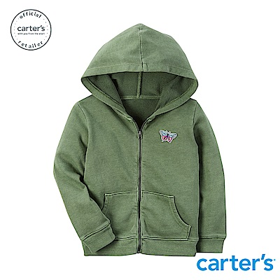 Carter's台灣總代理 小蝴蝶徽章連帽外套