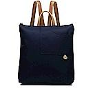 RADLEY POCKET ESSENTIALS素面尼龍後背口袋包(深藍)