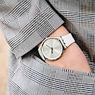 Swatch 超薄金屬系列 SKINDOREE 風尚白手錶
