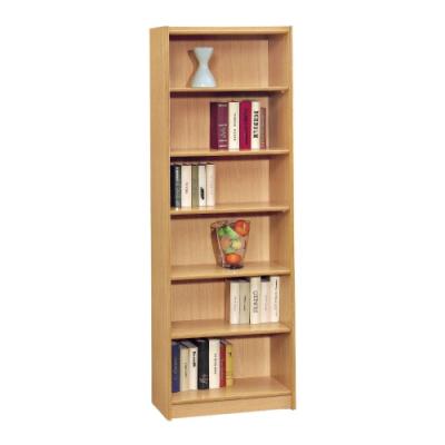 文創集 卡卡2尺開放式六格書櫃(二色可選)-61x30x182cm免組