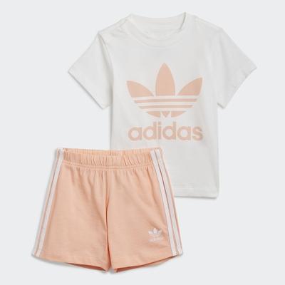 adidas ADICOLOR 運動套裝 男童/女童 GN8192