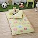 IN HOUSE-Owl-city(黃)-200織紗精梳棉-兒童睡袋 product thumbnail 1