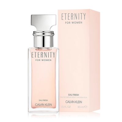 Calvin Klein ETERNITY FOR WOMEN 永恆瞬間女性淡香精30ml EDP-香水公司貨