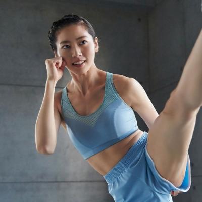 蕾黛絲-LadieSport運動Level 4 吸震背心 C.E運動內衣 躍動藍