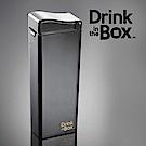 加拿大Drink in the box 兒童戶外方形吸管杯(大)-355ml-曜石黑