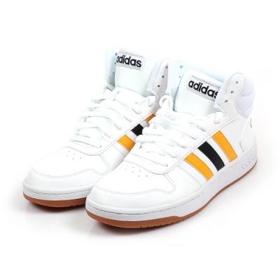 愛迪達 ADIDAS HOOPS 2.0 MID 籃球鞋-男 FW9347
