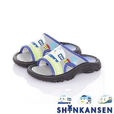 三麗鷗 新幹線童鞋 舒適減壓休閒拖鞋-灰