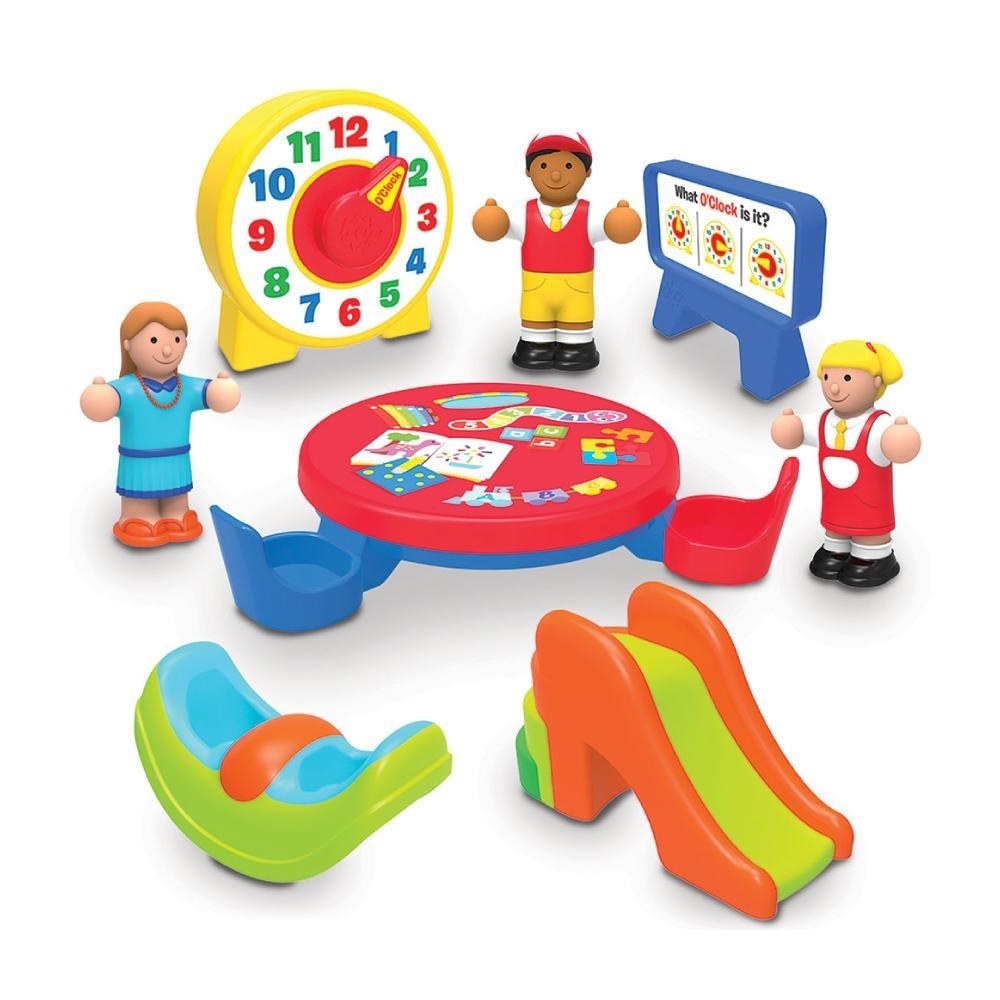 英國驚奇玩具 WOW Toys 小玩偶 - 幼幼班遊樂組