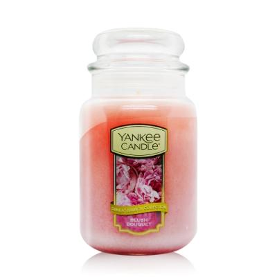 YANKEE CANDLE香氛蠟燭-粉紅花束 Blush Bouquet 623g