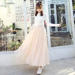 【韓國K.W.】薔薇花漾名媛紗裙-3色