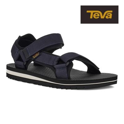 【TEVA】原廠貨 男 Universal Trail 多功能經典運動涼鞋/雨鞋/水鞋(深藍色-TV1106786TOEC)