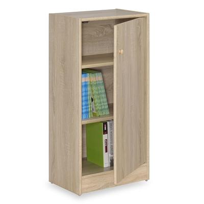 時尚屋 格納1.5尺單門收納櫃 寬45x深30x高90公分