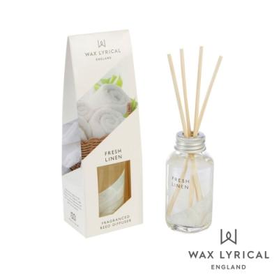 英國 Wax Lyrical 英式經典系列擴香瓶 清新亞麻 Fresh Linen 40ml