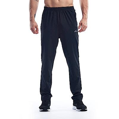 【ZEPRO】男子素面運動休閒長褲-簡約黑