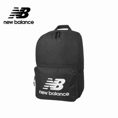 [New Balance]LOGO後背包_中性_黑色_BG03208GBKW