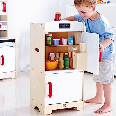 德國Hape愛傑卡-角色扮演系列大型冰箱(新版)