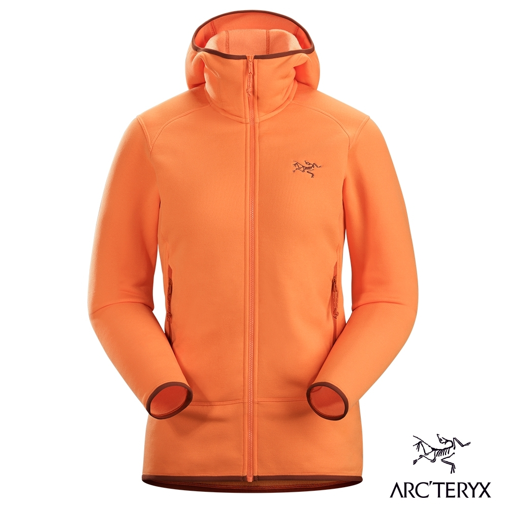 Arcteryx 始祖鳥 女 Kyanite 保暖 刷毛外套 歡樂橘