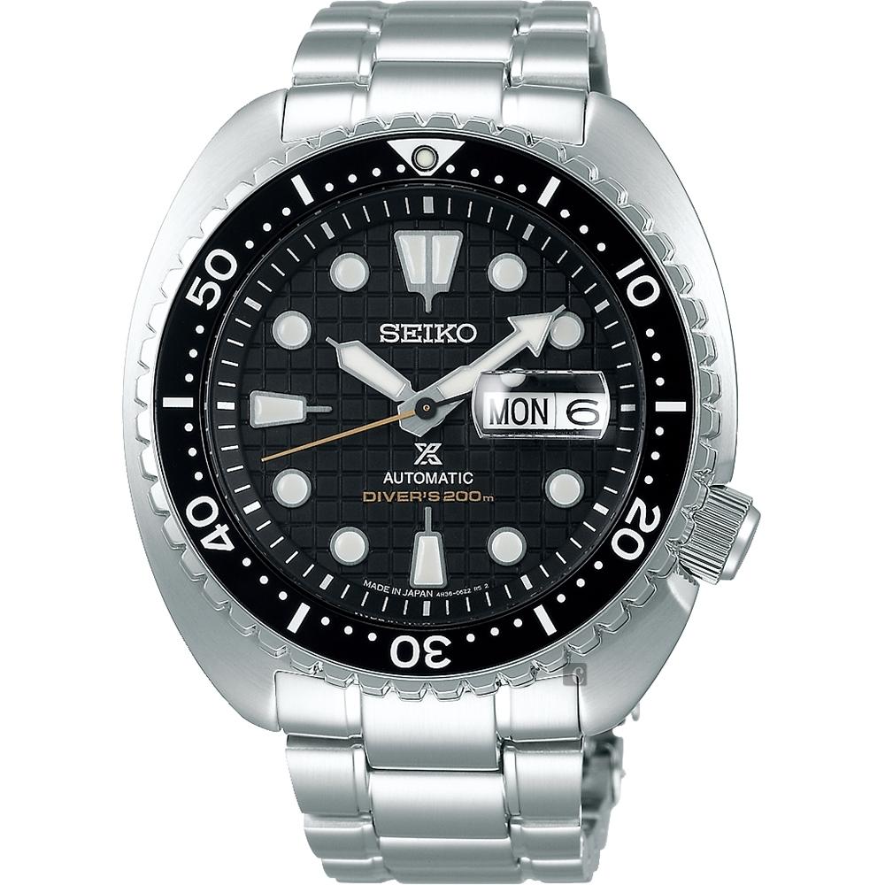 SEIKO 精工 Prospex SCUBA 200米潛水機械錶(SRPE03J1)