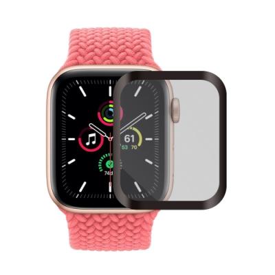 Metal-Slim Apple Watch SE 40mm 3D全膠滿版鋼化玻璃保護貼