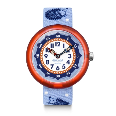FlikFlak 兒童錶 HEDGEHUGS 土撥鼠-31.85mm