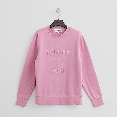 Hang Ten - 女裝 - 有機棉 - 跟隨自我性格上衣-粉紅色