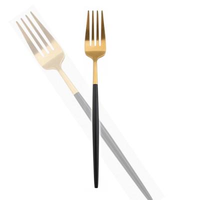 Royal Duke 葡萄牙同款餐叉-黑金色(歐洲時尚簡約)