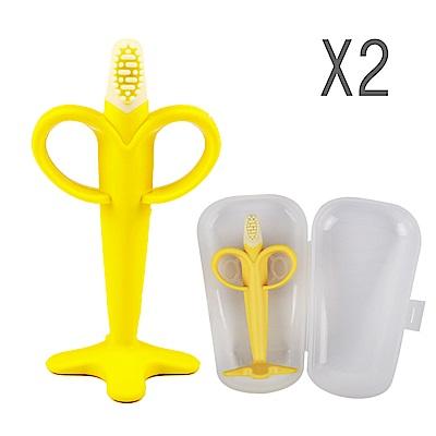 韓國perfection 香蕉固齒器2入組