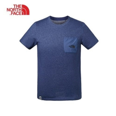 The North Face 男 休閒短袖T恤 藍-NF0A3V3THKW