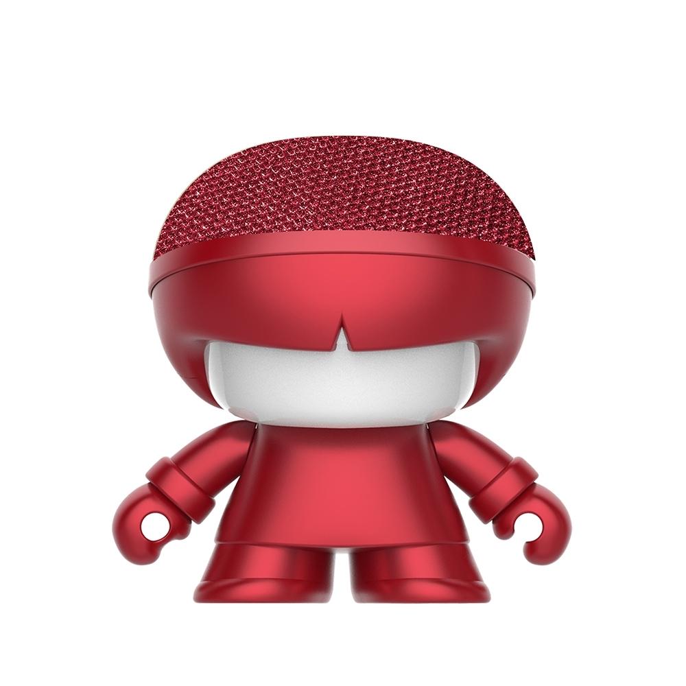 Xoopar Boy mini X3 迷你公仔造型藍芽喇叭-金屬紅