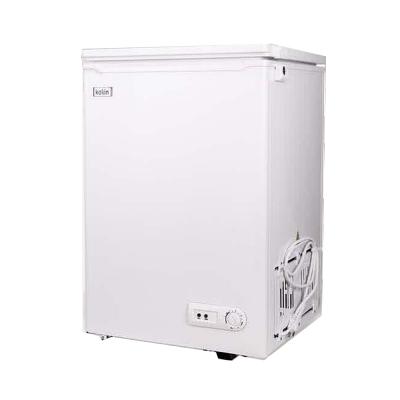 KOLIN 歌林 98L臥式冷藏/冷凍二用冰櫃 KR-110F06(白)上掀式玻璃上蓋 含基本運送