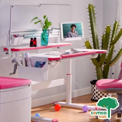 comta kids_HANDY漢迪探險兒童成長學習桌‧幅100cm(粉紅) W100*D74.5*H51~74 cm