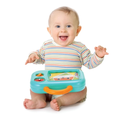 美國 Infantino 手提寶寶音樂TV學習玩具