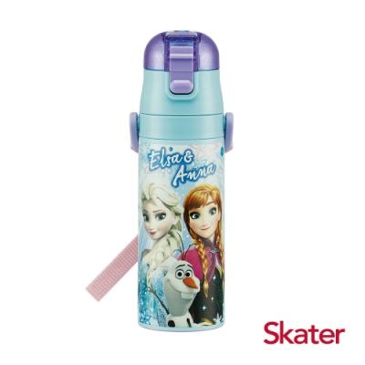 Skater直飲470ml不鏽鋼水壺-冰雪奇緣Family