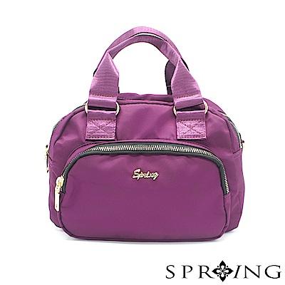 SPRING-守護者輕量多用側背包-亮麗紫
