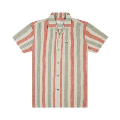 Deus Josè Stripe Shirt 直條紋 短袖襯衫 - 多色 (男)