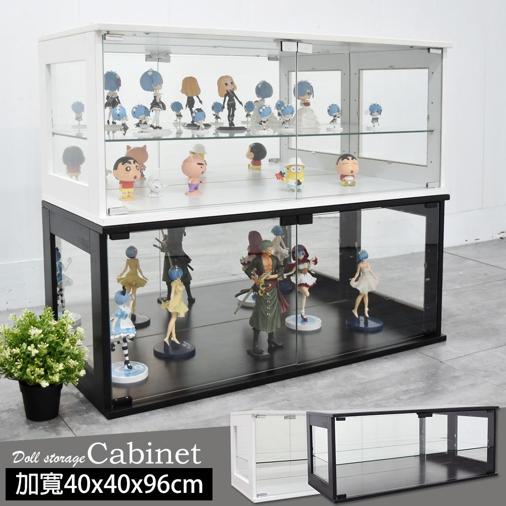 凱堡 加寬展示櫃40x40x96cm 模型櫃公仔櫃 收納櫃