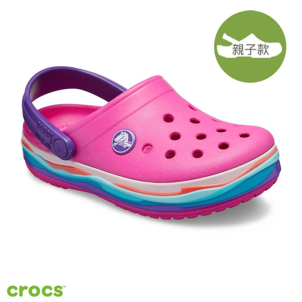 Crocs 卡駱馳 (童鞋)波浪小卡駱班-205697-6L0