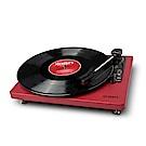 ION Audio Compact LP 摩登皮革黑膠唱機 - 勃根地酒紅