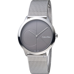 Calvin Klein minimal 大 ck簡約時尚女錶(K3M22123)35mm