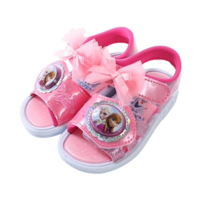 台灣製迪士尼冰雪奇緣閃燈涼鞋 sa94123 魔法Baby