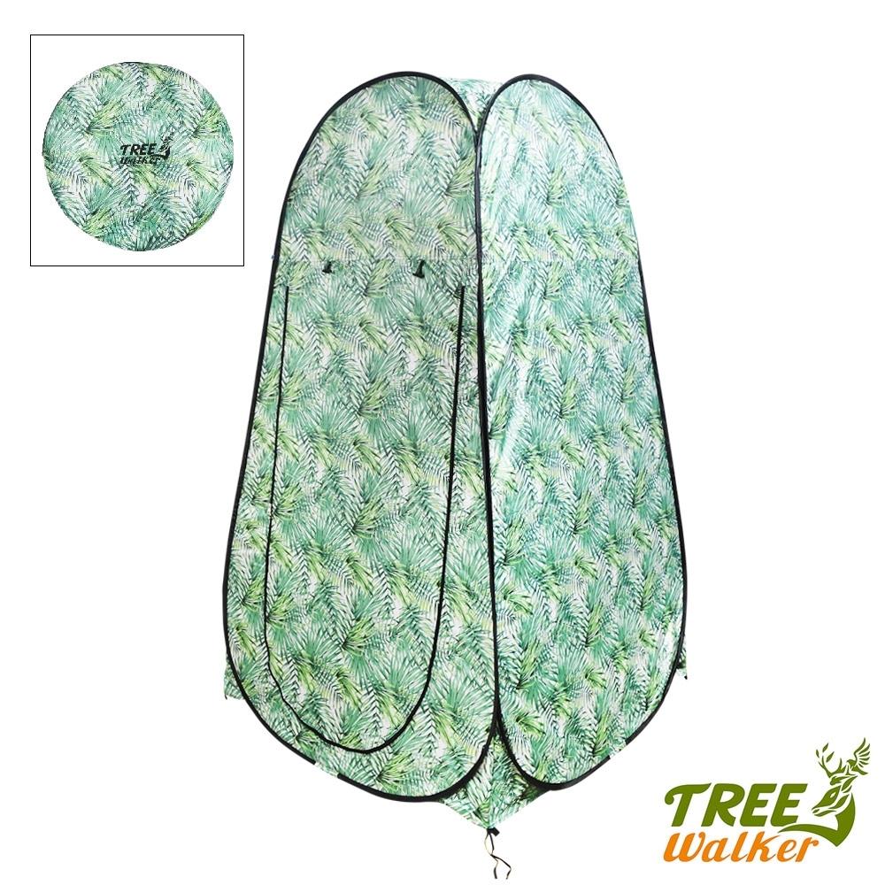 Tree Walker 露遊秒搭淋浴帳 綠森林