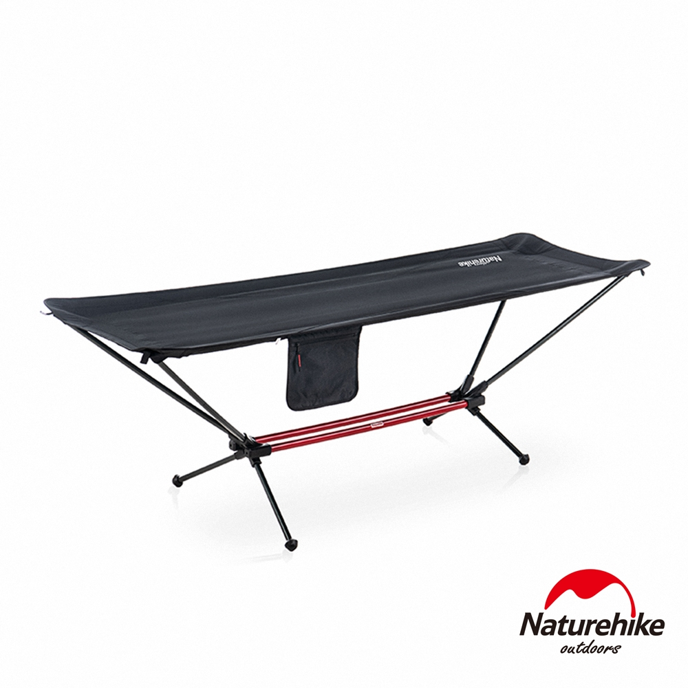 Naturehike 曠野可折疊自立式吊床 黑色 JJ011-急